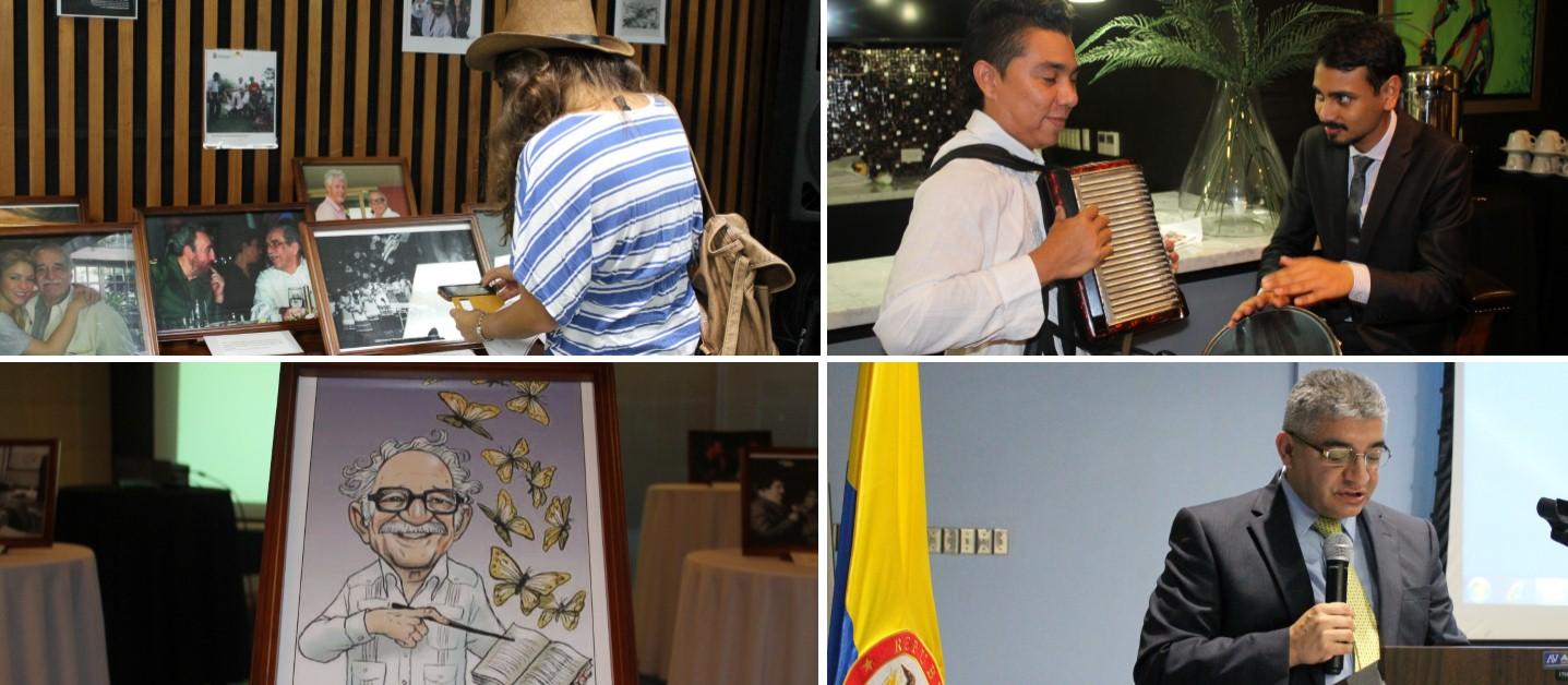 La Embajada de Colombia en Trinidad y Tobago realizó un evento sobre Gabriel García Márquez