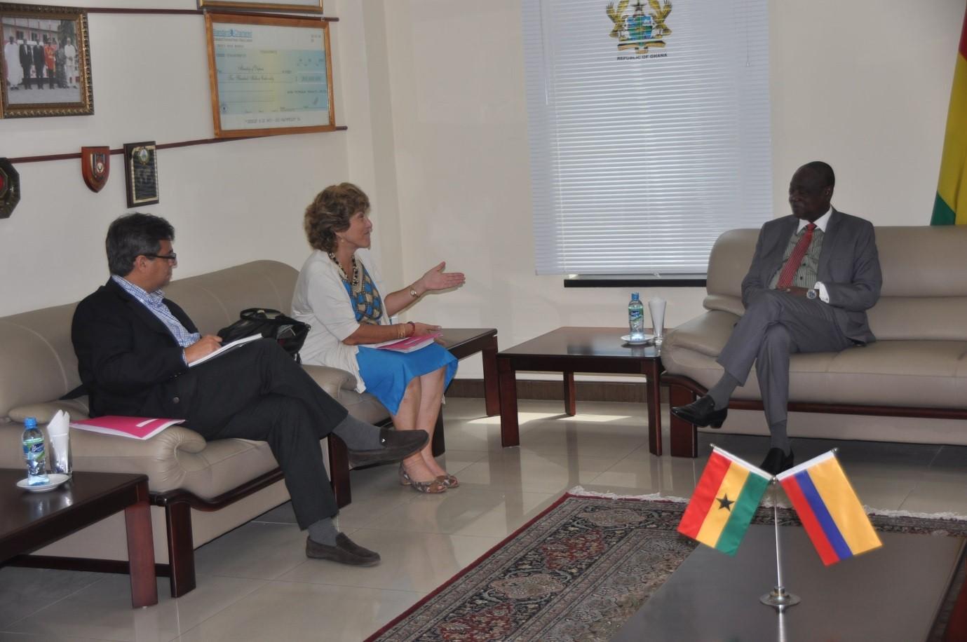 Embajada de Colombia en Ghana